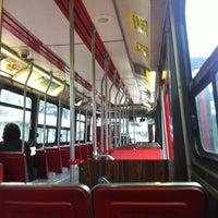 Photo taken at TTC Streetcar #504 King St by Scott M. on 10/22/2011
