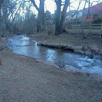 Photo taken at Manitou Springs Memorial Park by Jacob K. on 1/14/2012