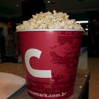 Photo taken at Cinemark by Betinha P. on 10/2/2011