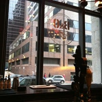 Photo taken at B&O American Brasserie by Gregory J. on 4/12/2011