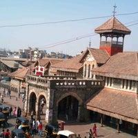 Photo taken at Bandra Railway Station by Rohit B. on 4/15/2012