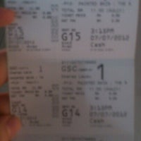 Photo taken at Golden Screen Cinemas (GSC) by Amilia N. on 7/7/2012