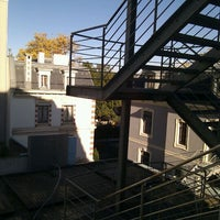 Photo taken at Geneva Hostel by Stanislav K. on 10/26/2011