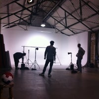 Photo taken at Shoreditch Studios by Leila F. on 10/22/2011
