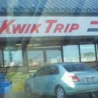 Photo taken at Kwik Trip #407 by Jaci L. on 12/27/2011