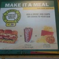 Photo taken at Subway by Nagesh R. on 11/24/2011