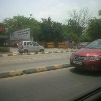 Photo taken at BRT Corridor by Akshar P. on 6/14/2011