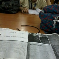 Photo taken at psba library by Aleth Joy S. on 1/21/2012