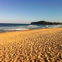 Photo taken at Mona Vale Beach by John B. on 3/31/2012