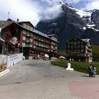 Photo taken at Kleine Scheidegg by Fer F. on 8/14/2011