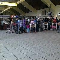 Photo taken at Supadio International Airport (PNK) by Shella M. on 9/8/2012