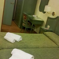 Photo taken at Hotel Augusta Lucilla Palace by Maya O. on 9/4/2012