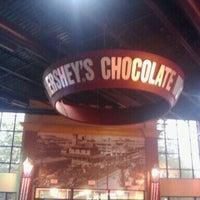Photo taken at Hershey's Chocolate World by Rick C. on 8/21/2011