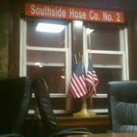 Photo taken at Southside Hose Co. 2 Hempstead Fire Department by Edward W. on 1/10/2012