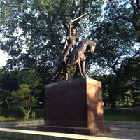 Photo taken at King Jagiello / Poland Monument by Matt H. on 7/5/2012