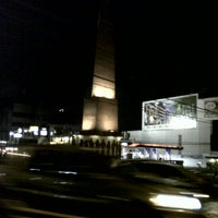 Photo taken at Tomas Morato Avenue by Justine B. on 9/10/2012