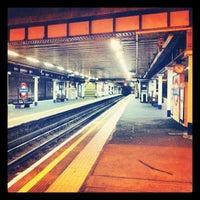 Photo taken at Arnos Grove London Underground Station by version3point1 on 2/29/2012