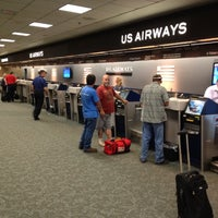 Photo taken at US Airways Ticket Counter by Stephen S. on 5/24/2012