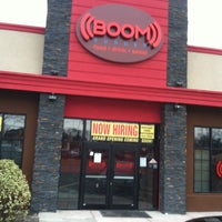 Photo taken at Boom Burger by Christopher A. on 1/4/2012