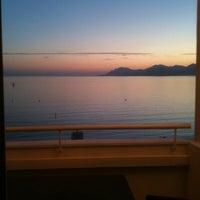 Photo taken at Grand Hyatt Cannes Hôtel Martinez by Vani I. on 2/7/2011