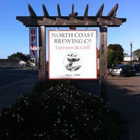 Photo taken at North Coast Brewing Co. Taproom & Grill by Dezi B. on 1/28/2012