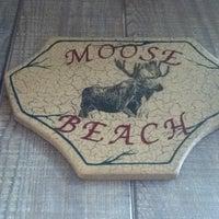 Photo taken at Moose Beach by Jenni Lynne L. on 8/27/2011