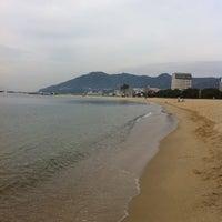 Photo taken at Suma Coast by libeliffey り. on 3/6/2011