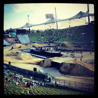 Photo taken at Olympic Stadium by Christina R. on 8/11/2012