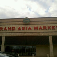 Photo taken at Grand Asia Market by Dawne K. on 11/27/2011