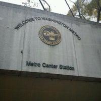 Photo taken at Metro Center Metro Station by Metro's A. on 11/22/2011