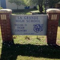 Photo taken at La Grande High School by Rob J. on 8/4/2012