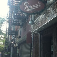 Photo taken at Royale by maddie on 8/4/2011