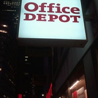 Photo taken at Office Depot - CLOSED by Jason A. on 11/8/2011