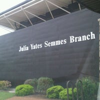 Photo taken at Julia Yates Semmes Branch Library by Brittany H. on 3/25/2012