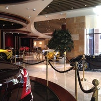 Photo taken at Ferrari Maserati Showroom and Dealership by Jeremy D. on 8/17/2012