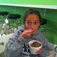 Photo taken at Lets Spoon Frozen Yogurt by Heidi B. on 11/8/2011