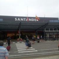 Photo taken at Aeropuerto de Santander - Seve Ballesteros by Jordi B. on 9/9/2012