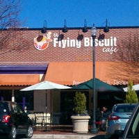 Photo taken at The Flying Biscuit by Jessie B. on 2/15/2012