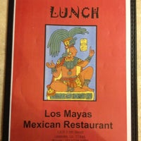 Photo taken at Los Mayas Mexican Restaurant by Travis C. on 2/21/2012