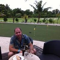 Photo taken at Kuredu Golf Club by Romario on 11/21/2011