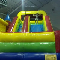 Photo taken at Bounce Fun Center by Heather M. on 6/27/2012
