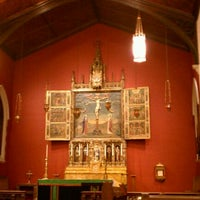 Photo taken at Cathedral Church of All Saints by Tyler K. on 9/24/2011