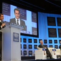 Photo taken at World Economic Forum (WEF) by Elysee on 12/14/2011