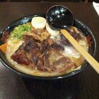 Photo taken at Ajisen Ramen 味千拉面 by Makoto K. on 12/22/2011
