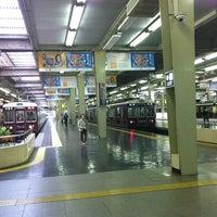 Photo taken at Hankyu Umeda Station (HK01) by OYAJI on 5/28/2012