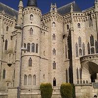 Photo taken at Palacio Episcopal de Astorga by PEDRO A. on 10/30/2011
