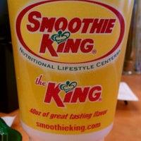 Photo taken at Smoothie King by Sam B. on 10/2/2011