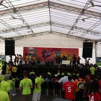 Photo taken at Hard Court PB by Ganiu L. on 7/7/2012