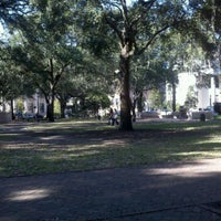 Photo taken at Forrest Gump's Bench (former location) by Eric B. on 11/12/2011