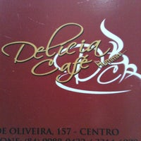 Photo taken at Delícia Café by Luiz R. on 4/9/2012